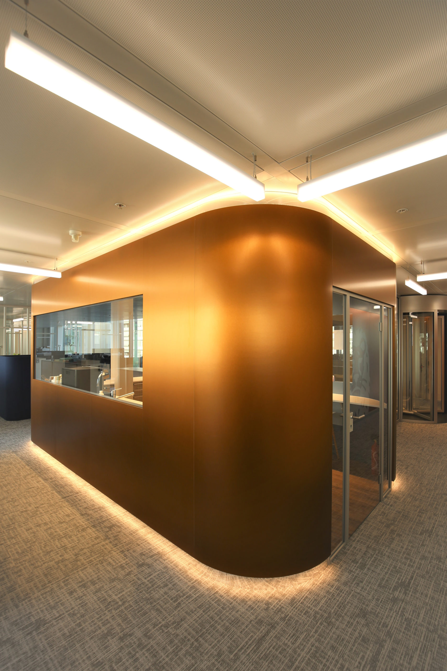 Space planning banque